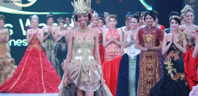 Miss Cameroon World Makes Cameroon Proud at Miss World 2013